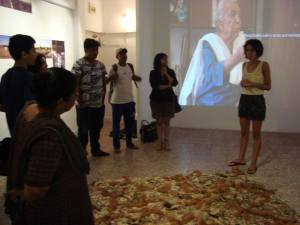 Exhibition walkthrough with Gitanjali Dang