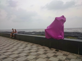 Worli Sea face, Photo-Dheer Kaku, Mumbai 2015