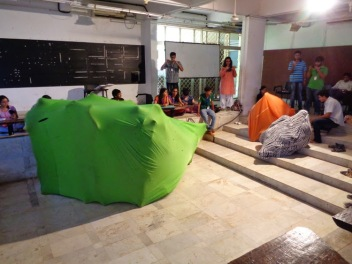 Rachana Sansad College of Fine Arts and Crafts,Interactive workshop, Mumbai 2015 Interactive workshop
